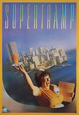 thumbnail link to original 1979 A&M promo poster Supertramp Breakfast in America