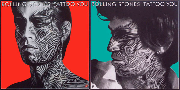 THE ROLLING STONES, TATTOO YOU, 1981. 2 original promo posters,