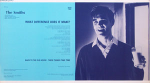 thumbnail link to original The Smiths What Difference Does It Make Rough Trade Records sleeve proof.