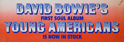 thumbnail link to original David Bowie Young Americans promo banner.